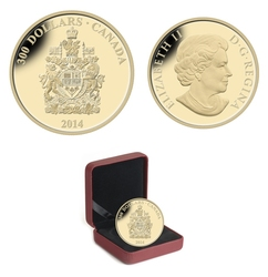 COATS OF ARMS OF CANADA -  COAT OF ARMS OF CANADA -  2014 CANADIAN COINS 14