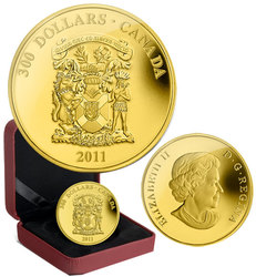 COATS OF ARMS OF CANADA -  COAT OF ARMS OF NOVA SCOTIA -  2011 CANADIAN COINS 08