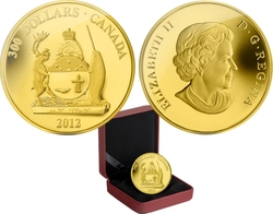COATS OF ARMS OF CANADA -  COAT OF ARMS OF NUNAVUT -  2012 CANADIAN COINS 10