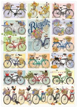 COBBLE HILL -  BICYCLE (1000 PIECES)