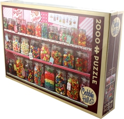 COBBLE HILL -  CANDY STORE (2000 PIECES)