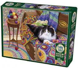 COBBLE HILL -  COMFY CAT (1000 PIECES)