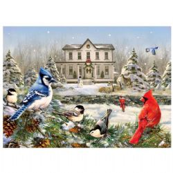 COBBLE HILL -  COUNTRY HOUSE BIRDS (1000 PIECES)