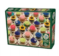 COBBLE HILL -  CUPCAKES AND SAUCERS (1000 PIECES)
