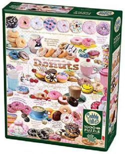 COBBLE HILL -  DONUT TIME (1000 PIECES)