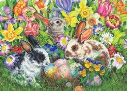 COBBLE HILL -  EASTER BUNNIES (500 PIECES)