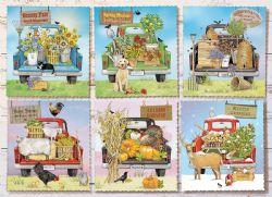 COBBLE HILL -  FARMER'S MARKET TRUCKS (1000 PIECES)