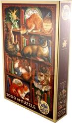 COBBLE HILL -  FELINE BOOKCASE (2000 PIECES)