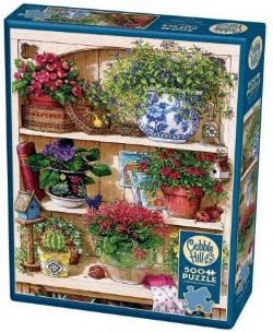 COBBLE HILL -  FLOWER CUPBOARD (500 PIECES)