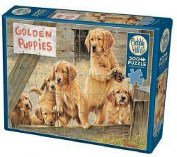 COBBLE HILL -  GOLDEN PUPPIES (500 PIECES)