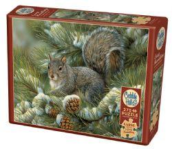 COBBLE HILL -  GRAY SQUIRREL (275 PIECES)
