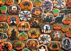 COBBLE HILL -  HALLOWEEN COOKIES (350 PIECES)
