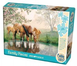 COBBLE HILL -  HORSE FAMILY (350 PIECES)