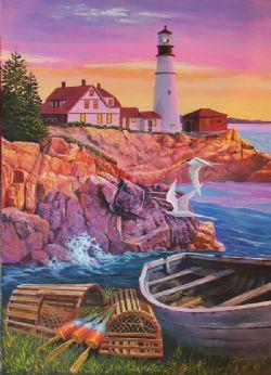 COBBLE HILL -  LIGHTHOUSE COVE (275 PIECES)
