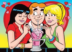 COBBLE HILL -  LOVE TRIANGLE (500 PIECES) -  ARCHIE