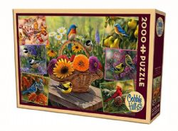 COBBLE HILL -  ROSEMARY BIRD'S (2000 PIECES)