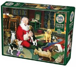COBBLE HILL -  SANTA'S PLAYTIME (1000 PIECES) -  CHRISTMAS COLLECTION