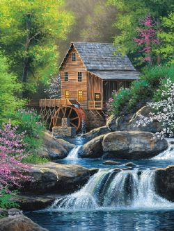 COBBLE HILL -  SPRING MILL (275 PIECES)