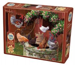 COBBLE HILL -  THE CHICKENS ARE WELL (275 PIECES)