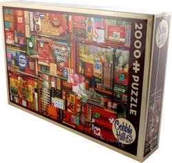 COBBLE HILL -  VINTAGE ART SUPPLIES (2000 PIECES)