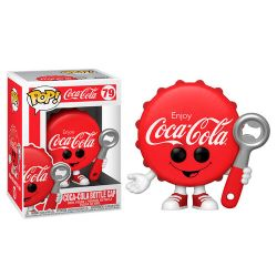 COCA-COLA -  POP! VINYL FIGURE OF COCA-COLA BOTTLE CAP (4 INCH) 79