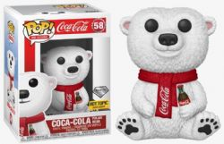 COCA-COLA -  POP! VINYL FIGURE OF COCA-COLA POLAR BEAR (DIAMOND COLLECTION) (4 INCH) 58