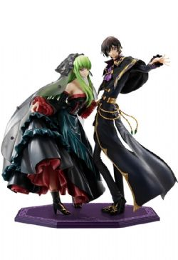 CODE GEASS -  C.C. AND LELOUCH LAMPEROUGE FIGURE -  CODE GEASS: LELOUCH OF THE RE;SURRECTION