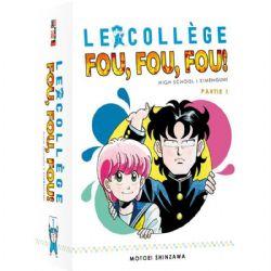 COLLÈGE FOU FOU FOU: HIGH SCHOOL ! KIMENGUMI, LE -  COFFRET INTÉGRAL 10 MANGA 01