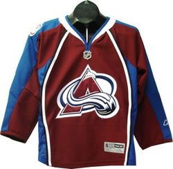 COLORADO AVALANCHE -  REPLICA JERSEY BURGANDY (JUNIOR)