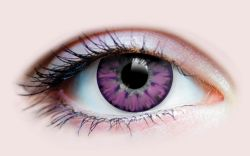 COLOURED CONTACT LENSES -  ENCHANTED LILAC (90 DAYS)