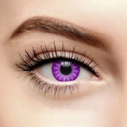 COLOURED CONTACT LENSES -  VIOLET (90 DAYS)