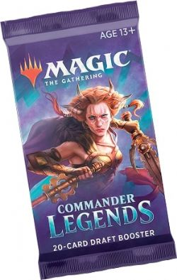 COMMANDER LEGENDS -  BOOSTER PACK (ENGLISH) (P20/B24/C6)