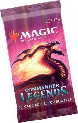 COMMANDER LEGENDS -  COLLECTOR BOOSTER PACK (ENGLISH) (P15/B12/C6)