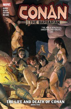 CONAN -  LIFE AND DEATH OF CONAN TP -  THE BARBARIAN 02