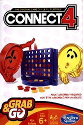 CONNECT 4 -  CONNECT 4 - GRAB AND GO (BILINGUAL)