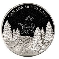 CONSTELLATIONS -  FALL - BIG AND LITTLE BEAR CONSTELLATIONS -  2006 CANADIAN COINS 03