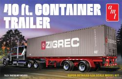 CONTAINER -  40 FT. CONTAINER TRAILER (MODERATE)
