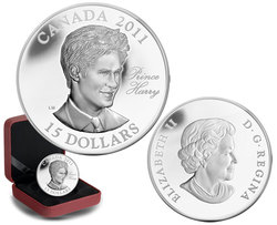 CONTINUITY OF THE CROWN -  H.R.M. PRINCE HENRY OF WALES -  2011 CANADIAN COINS 01