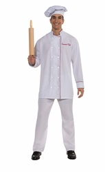 COOK -  GOURMET CHEF COSTUME (ADULT - STANDARD)