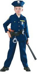 COPS AND ROBBERS -  POLICE OFFICER COSTUME