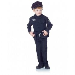 COPS AND ROBBERS -  POLICEMAN COSTUME (ENFANT)