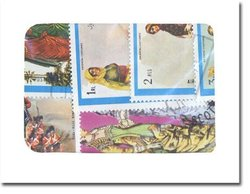 COSTUMES -  25 ASSORTED STAMPS - COSTUMES