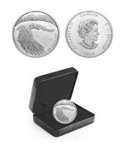 COURAGEOUS BALD EAGLE -  2020 CANADIAN COINS