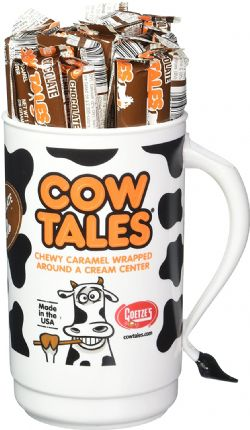 COW TALES -  CARAMEL BROWNIE