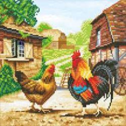 CRAFT BUDDY -  FARMYARD CHICKENS (12