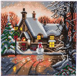 CRAFT BUDDY -  SNOWMAN COTTAGE (12