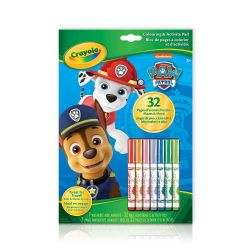 CRAYOLA -  32 PAGES COLOURING & ACTIVITY PAD -  PAW PATROL