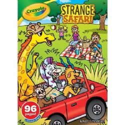 CRAYOLA -  96 PAGES COLOURING BOOK