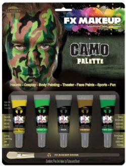 CREAM MAKEUP -  TINSLEY FX - CAMO KIT