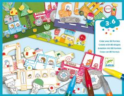CREATE WITH 80 SHAPES -  A WORLD TO CREATE, CARS (MULTILINGUAL)